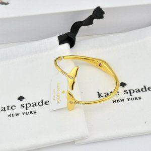 Kate Spade Zircon Fishtail Open Bracelet